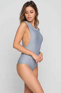 Cloud 9 Mesh One Piece in Sky/Beach Babe