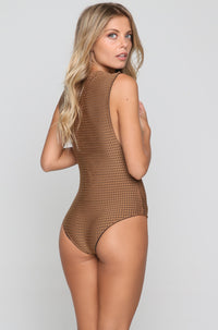 Cloud 9 Mesh One Piece in Beach Babe/Shadow