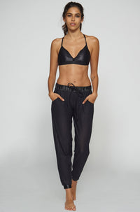 Koral Activewear Double Layer Sweats in Black|ISHINE365 - 3