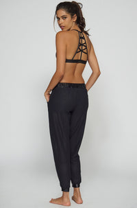 Koral Activewear Double Layer Sweats in Black|ISHINE365 - 2