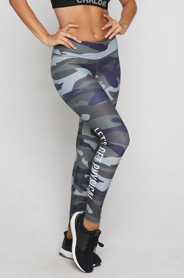 Physical Leggings in Camo