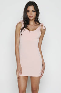 Teagan Bodycon Dress in Peach