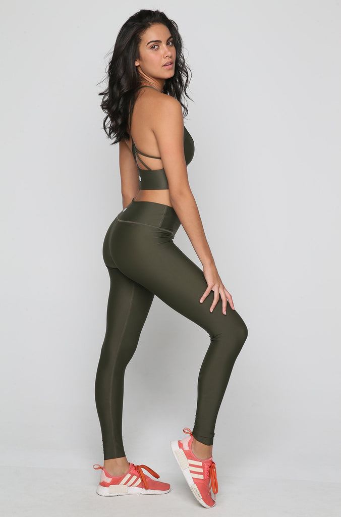 Flex Legging in Olive