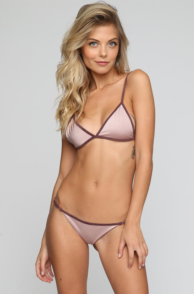 JYORK x DBRIE Cameron Reversible Bikini Bottom in Suede Mauve/Blush|ISHINE365 - 4