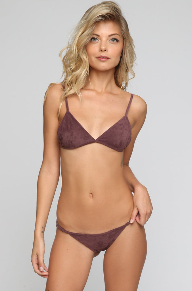 JYORK x DBRIE Cameron Reversible Bikini Bottom in Suede Mauve/Blush|ISHINE365 - 5