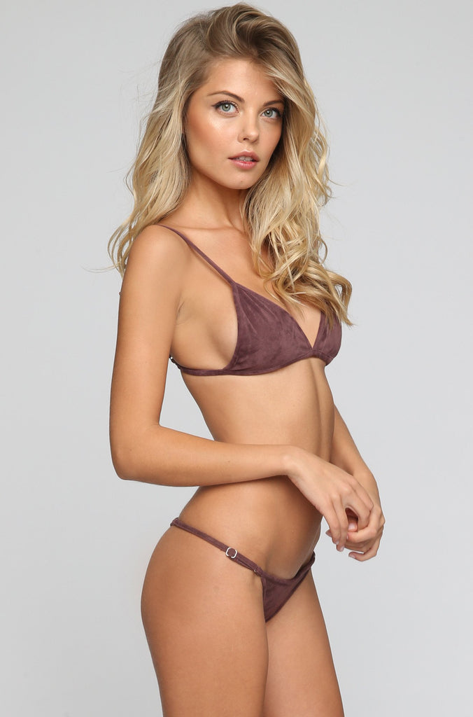 JYORK x DBRIE Cameron Reversible Bikini Bottom in Suede Mauve/Blush|ISHINE365 - 3