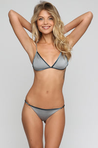 JYORK x DBRIE *ISHINE EXCLUSIVE* Cameron Reversible Bikini Bottom in Velvet Ice/Silver|ISHINE365 - 5