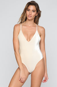 JYORK x DBRIE Jane Reversible One Piece in Velvet Ivory/Nude|ISHINE365 - 1
