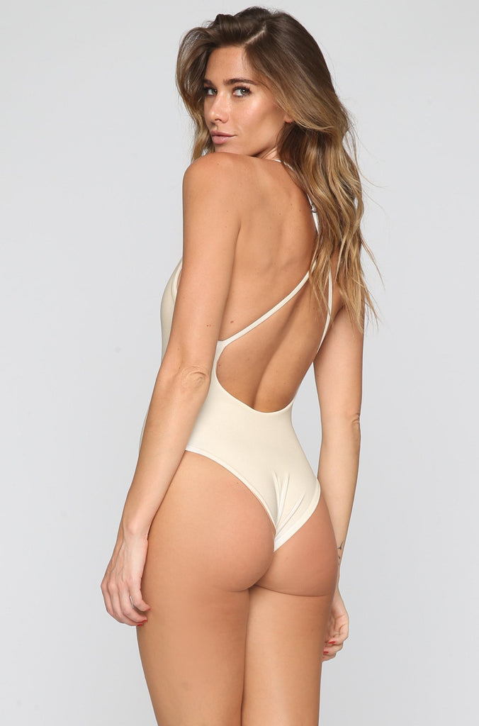 JYORK x DBRIE Jane Reversible One Piece in Velvet Ivory/Nude|ISHINE365 - 3