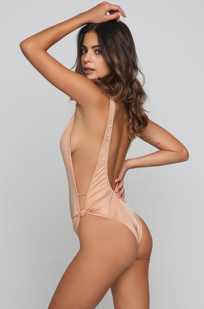 Stevie One Piece in Nude