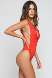 Stevie One Piece in Red