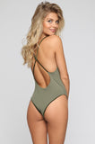 JYORK x DBRIE Jane Reversible One Piece in Velvet Emerald/Olive|ISHINE365 - 5