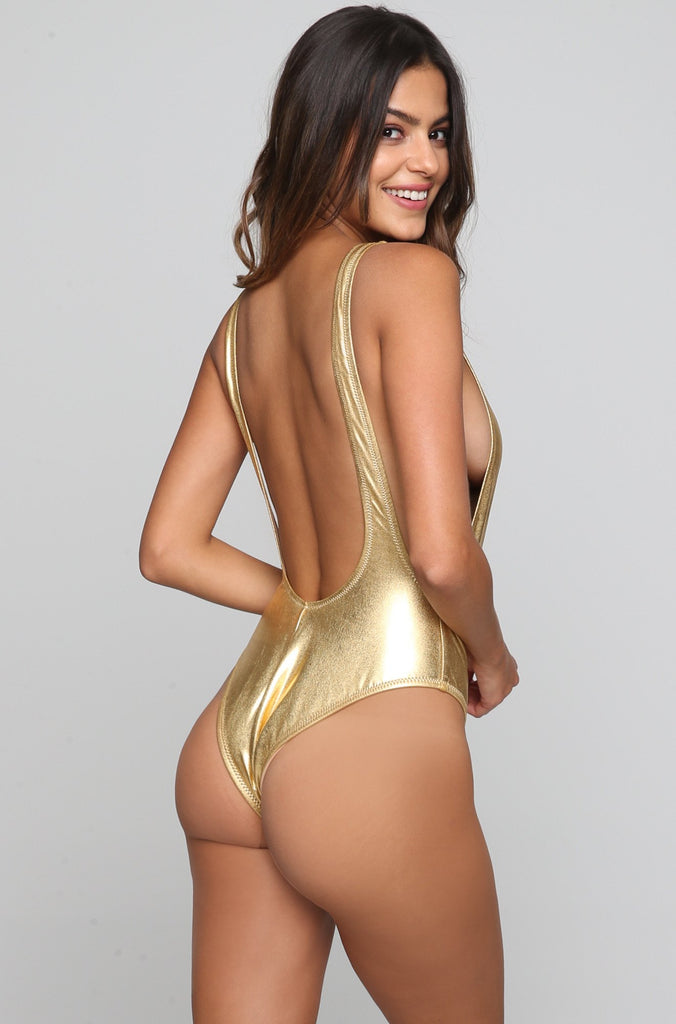 V One Piece in Golden