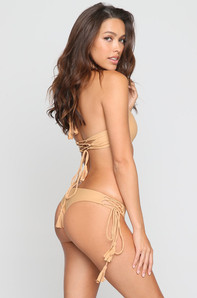 Gypsy Bikini Bottom in Sand