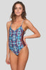 Lani One Piece in Rose Tapa
