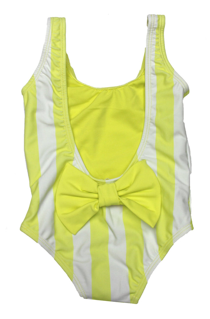 Lolli Swimwear 2016 Sweetie Babykini One Piece in Mellow Yellow Stripes|ISHINE365 - 6
