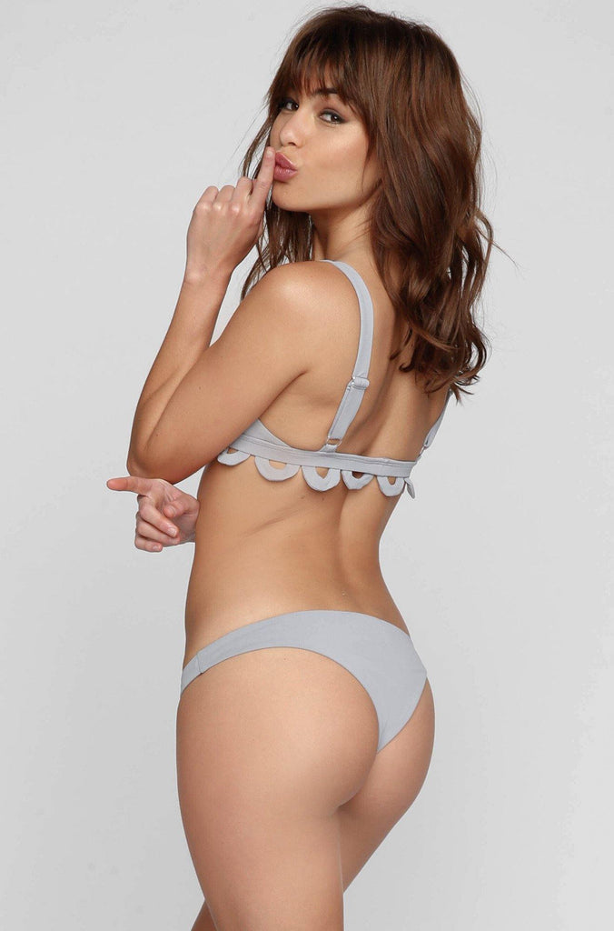 Abbey Bikini Bottom in Smoke