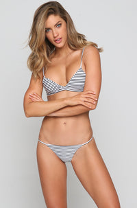 Sao Paulo Bikini Bottom in Vintage Sailor Night