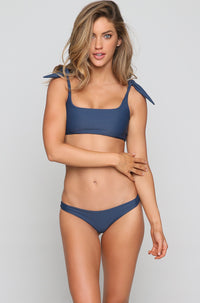 Lahaina Bikini Bottom in Drop Off Blue