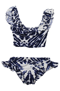 MIKOH SWIMWEAR 2016 Mini Havana/Sardinia Bikini in Wave Coastal Blue (Child Bikini)|ISHINE365 - 5