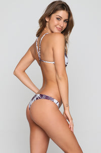 Palm Beach Bikini Top in Botanical Wine