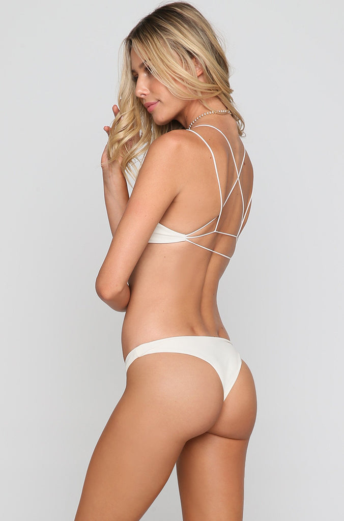 Lahaina Bikini Bottom in Bone