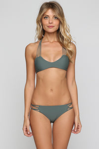 MIKOH SWIMWEAR 2016 Molokai Bikini Bottom in Army|ISHINE365 - 4