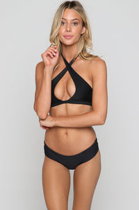 Tahaa Bikini Top in Night