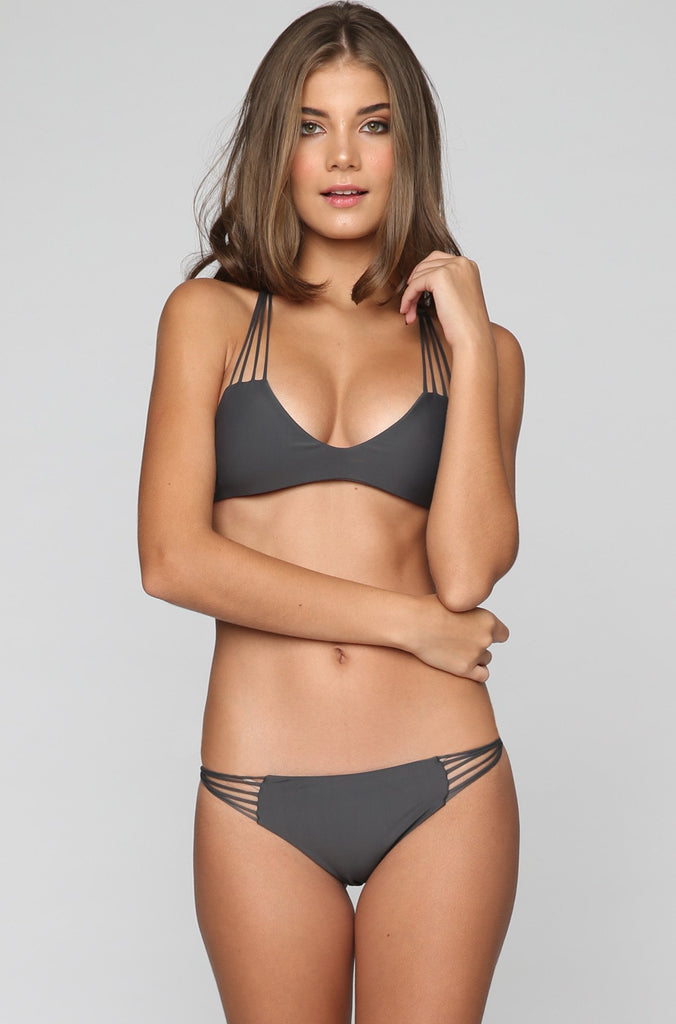 MIKOH SWIMWEAR 2016 Lanai Bikini Bottom in Lava|ISHINE365 - 2