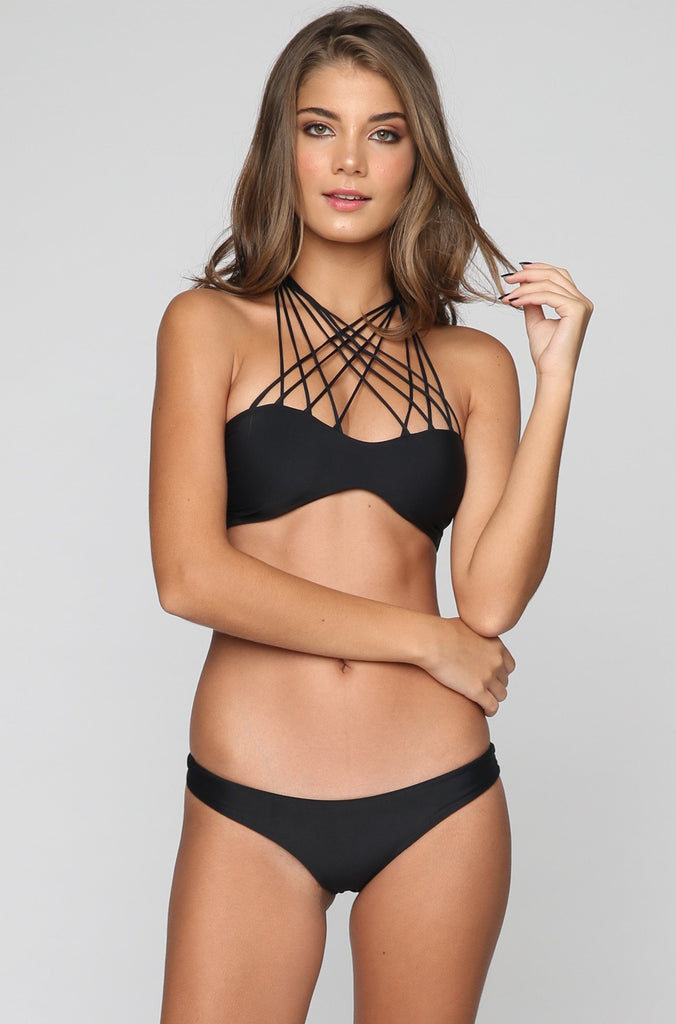 MIKOH SWIMWEAR 2016 Manoa Bikini Bottom in Night|ISHINE365 - 2