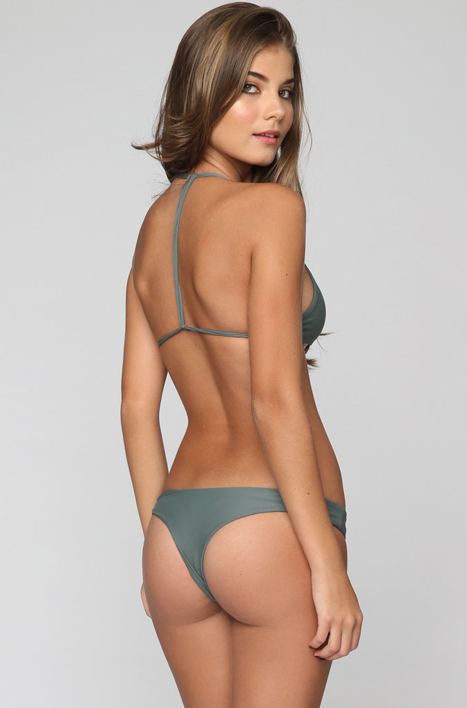 Manoa Bikini Bottom in Army