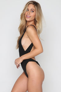 Basel One Piece in Black