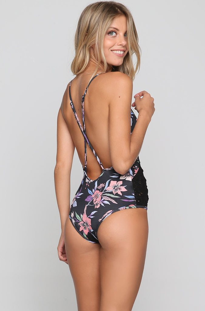 Paris One Piece in Wild Orchid