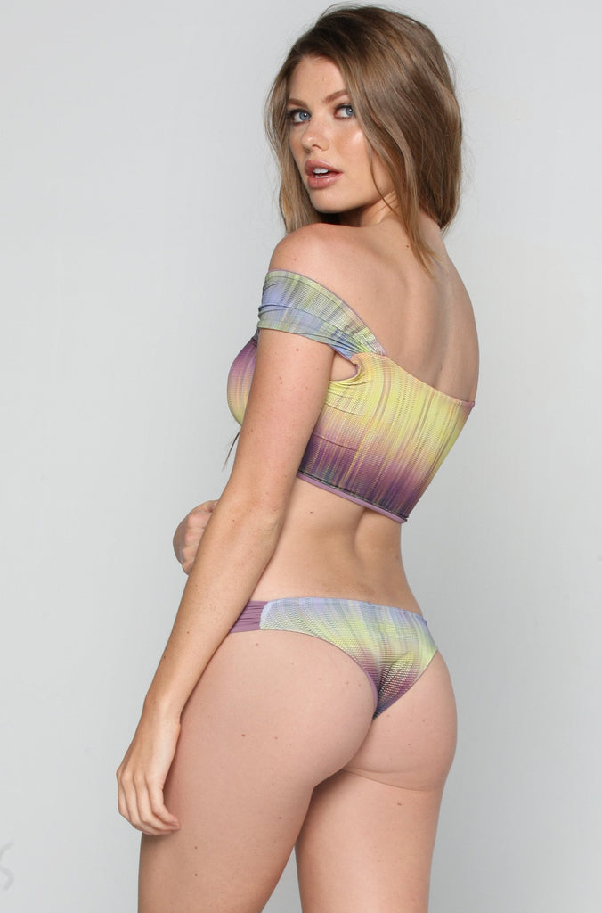 Crop Hipster Bottom in Amethyst