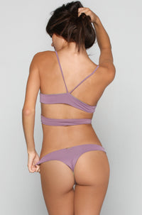 San Lorenzo Bikinis Caged Thong Bottom in Amethyst|ISHINE365 - 1