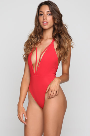 Trestles One Piece in Baywatch