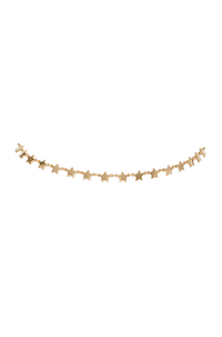 Star Choker in Gold