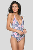 Palma One Piece in Flor Gitano
