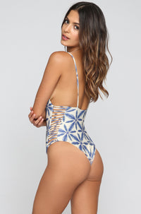 Stone Fox Swim Hermosa One Piece in Batik|ISHINE365 - 2