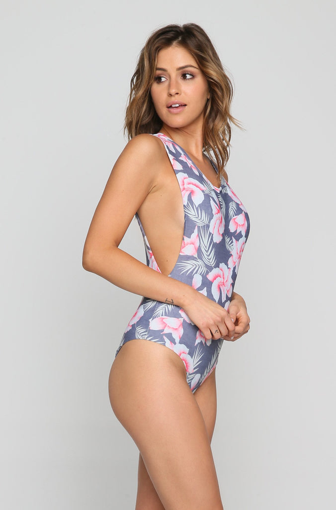 Tulum One Piece in Flor Gitano