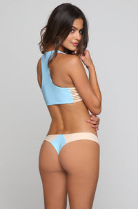 Stone Fox Swim Byron Bikini Bottom in Sky Naked Block|ISHINE365 - 1