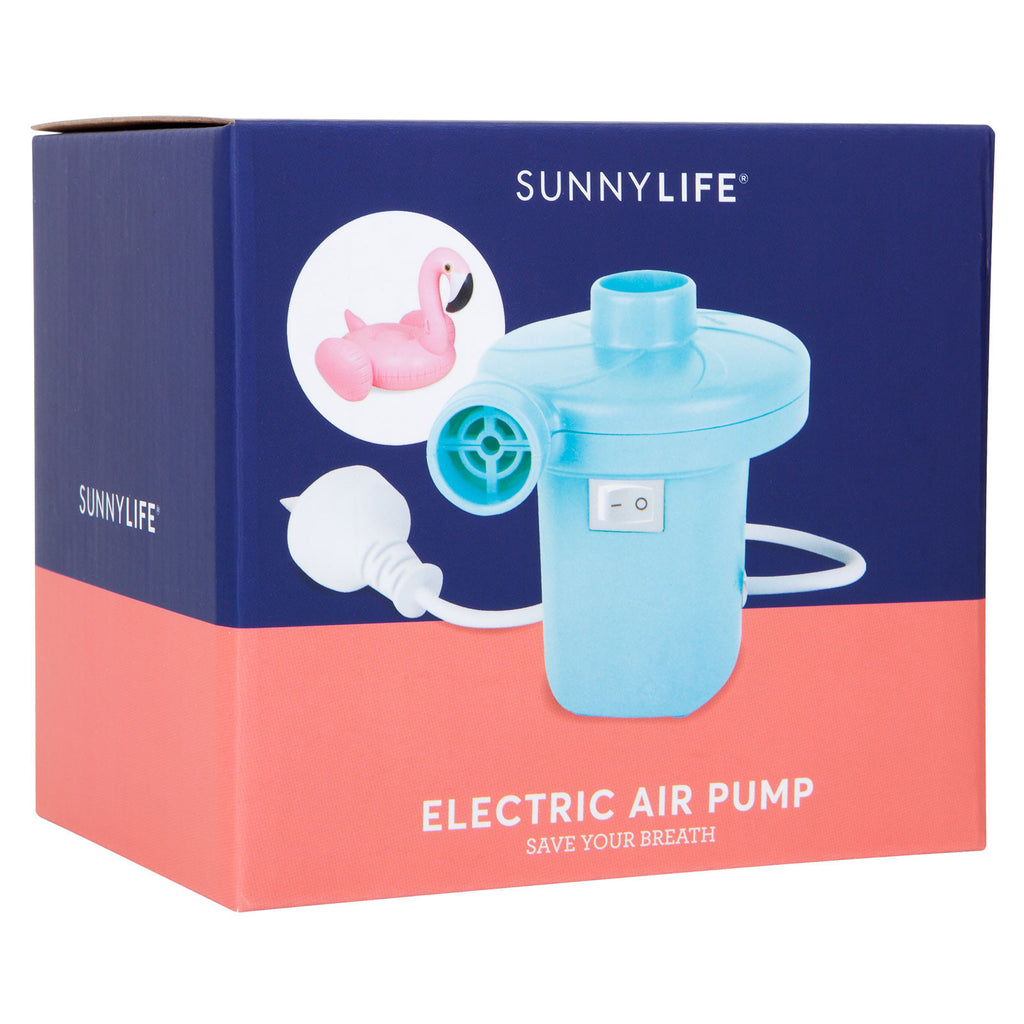 Electric Air Pump in Turquoise