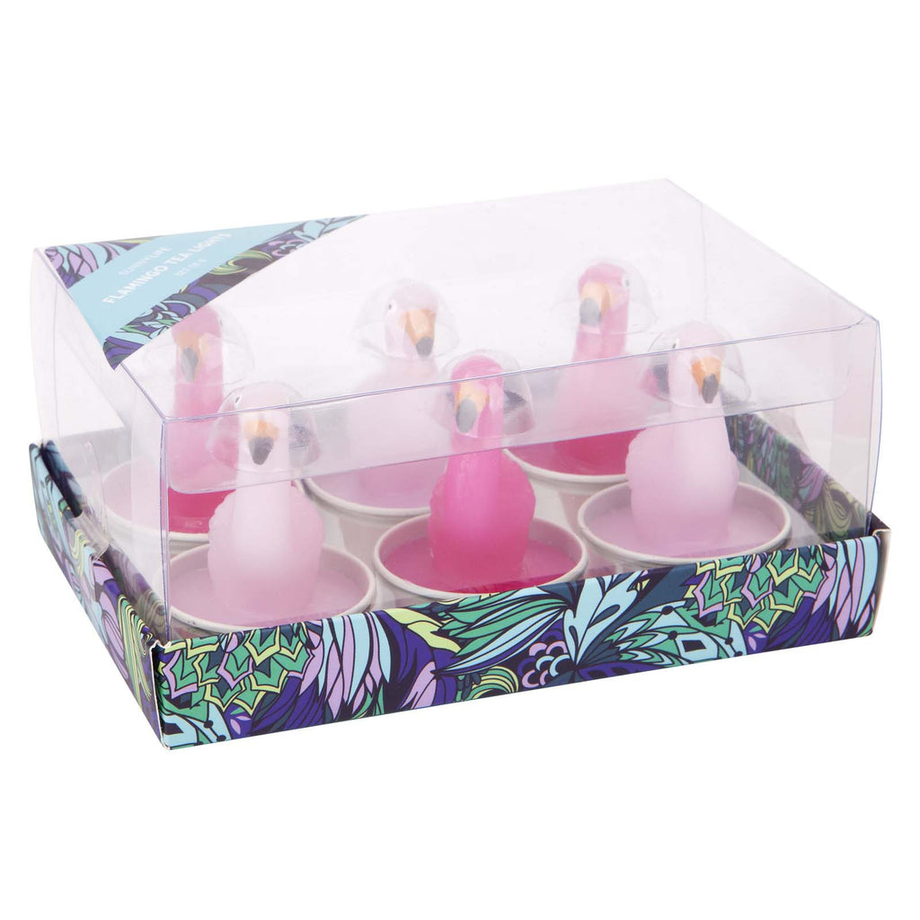 Flamingo Tea Lights