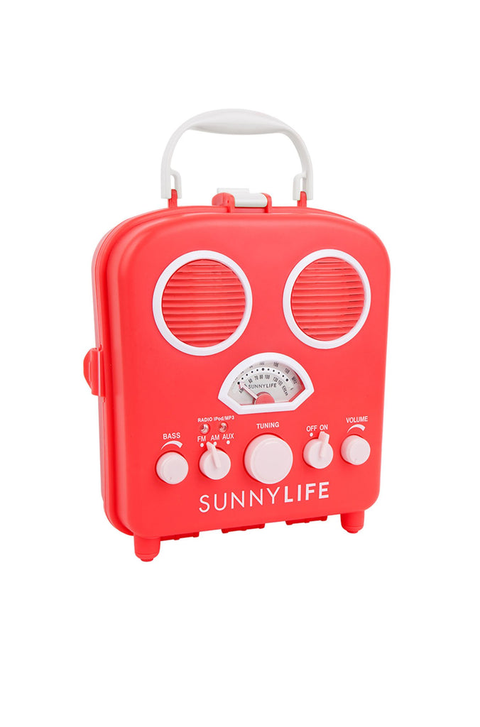 Sunny Life Beach Sounds in Hot Coral|ISHINE365 - 1