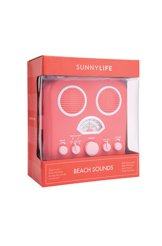 Beach Sounds in Hot Coral