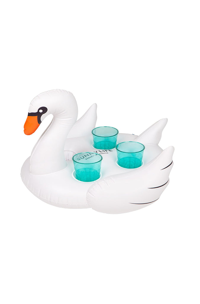 Sunny Life Inflatable Drink Holder Swan|ISHINE365 - 2