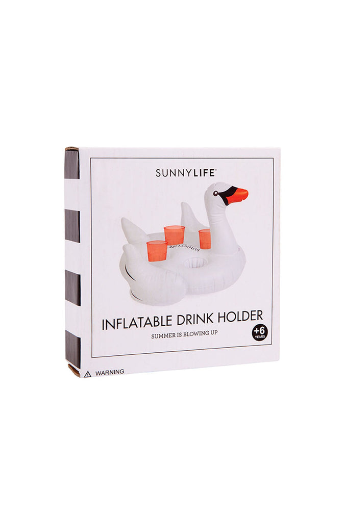 Sunny Life Inflatable Drink Holder Swan|ISHINE365 - 3