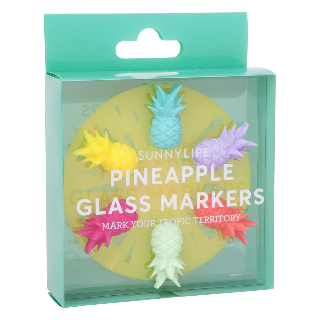 Pineapple Glass Markers