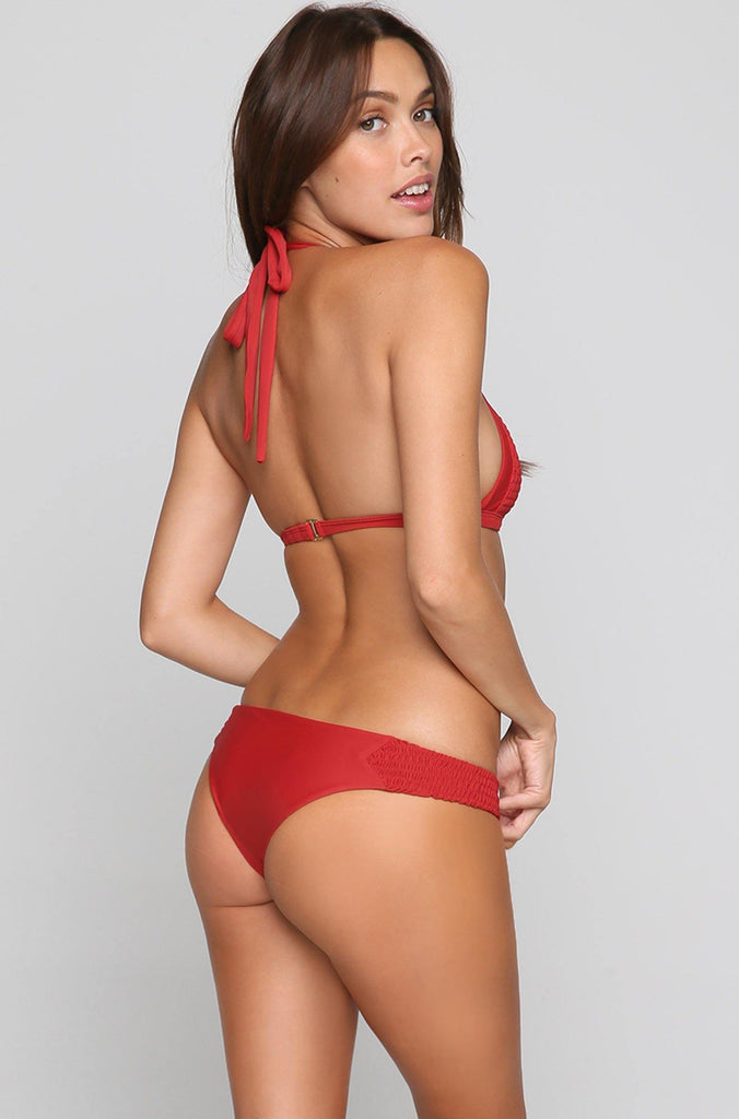Adelle Bikini Bottom in Chillipepper