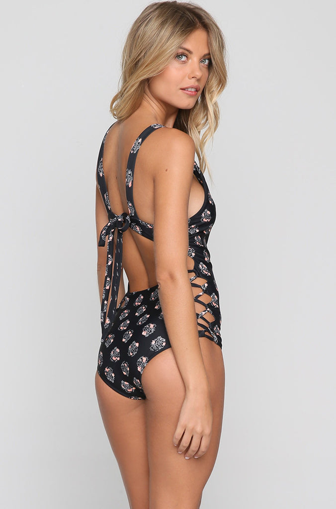 Sayulita One Piece in Storm